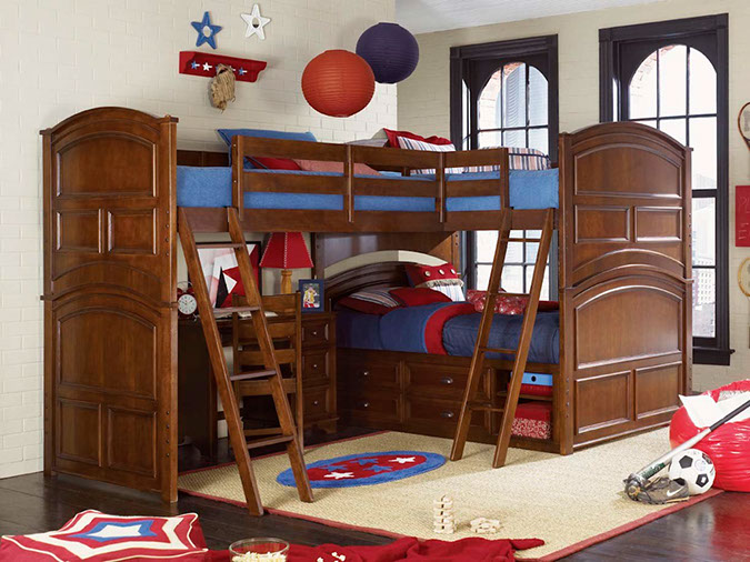 Nest furnishings for Bunk bed and bang